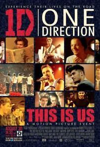 One Direction Movie POSTER 11 x 17 Liam Payne, Harry Styles, Zayn Malik, A