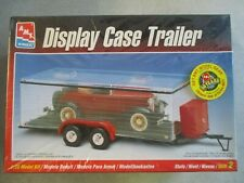 1:25 SCALE DISPLAY CASE TRAILER MODEL KIT AMT ERTL 1998 MIB MODEL NUMBER 8216