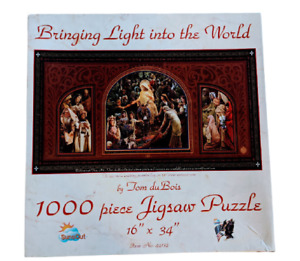Bringing Light into the World 1000pc Jigsaw Puzzle Tom duBois Christian Portrait