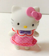 New in Box Sanrio Hello Kitty Dress Up Polka Dot Dress Collectible Figure kawaii