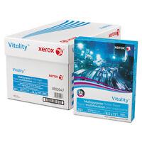 XEROX CORP. Vitality Multipurpose Printer Paper, 8 1/2 x 11, White, 500 Sheets