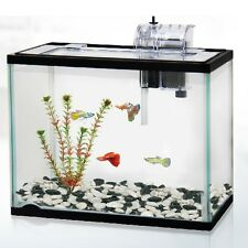 CLASSICA 12L 12 LITRE AQUARIUM FISH TANK STARTER KIT SYSTEM GOLD GOLDFISH FILTER