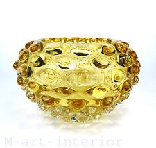 Seguso Vetri d'Arte BUBBLE GUSCIO lenti Art Glass Bowl Murano Italy Ø 18cm