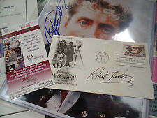Robert Horton JSA COA FDC autograph signed WAGON TRAIN Flint auto JAMES SPENCE
