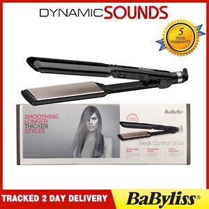 BaByliss 2179U Nano Ceramic 235 Travel Hair Straightener with Heat Mat