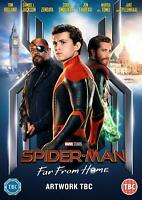 SPIDER-MAN: FAR FROM HOME - Tom Holland 2019 [DVD][Region 2] Sent Sameday*