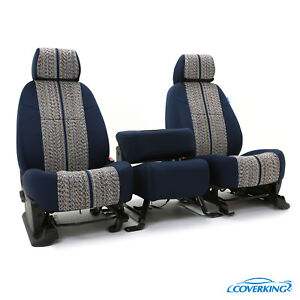 Coverking Custom Front and Second Row Seat Covers For Lexus GX470 LX570