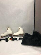 Jackson Womens Figure ice skates 5 protege blade 9 inch covers velvet bags pair