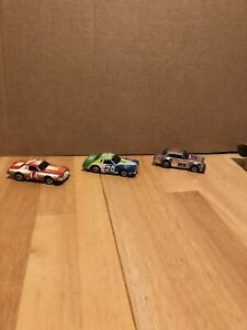 VINTAGE AFX AURORA SPEED STEER 3 CAR ROAD BLOCKER CARS