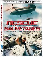 Rescue (IMAX) DVD Movie- Bilingual - Brand New & Sealed-Fast Ship! VG-164