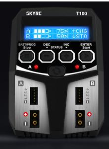 Sky-RC T100 Charger AC Dual 5A Output Balance LiPO NiMH PB LiHV