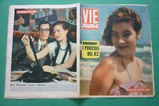 Voies Neuf 1954 May Britt + Américaine Grimpeurs sur Le K2 + Carlo Lizzani +