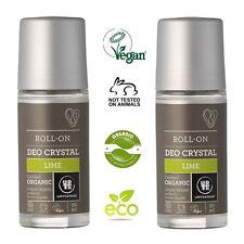 urtekram Organique cristaux Limette déodorant 2 x 50ml Végétalien,