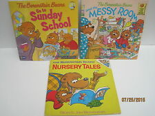 The Berenstain Bears Books by Stan & Jan Berenstain, Lot of 6 Books