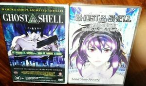 Ghost In The Shell (DVD, 2000) & Solid State Society Both Near Near Region 1