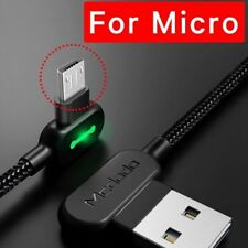 Mcdodo Right Angle 90° Micro Usb Led Fast Charging Sync Data Cable For Android