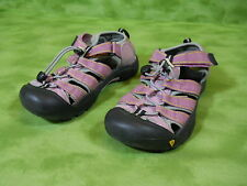 KEEN waterproof sandals Women's 4 Pink / black non marking sole