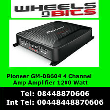 Pioneer GM-D8604 4 Channel 1200W Class-D Car Amp Amplifier with bass bosst