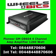 Pioneer GM-D8604 4 Channel 1200W Class-D Car Amp Amplifier with bass bosst