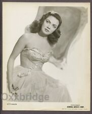 KITTY KALLEN Female Jazz Singer 1938 Booking Photo Bebop Swing Big Band DG