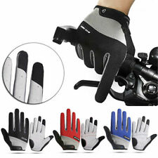 Road Mountain Bike Bicycle Cycling Full Finger Gloves BMX MTB Riding Touchscreen