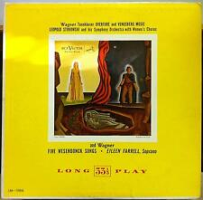 STOKOWSKI & EILEEN FARRELL wagner tannhauser LP VG LM-1066 Mono USA RCA 50s