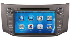 "8"" Touch Screen Stereo Car Radio MP3 DVD Player GPS Navigation For Nissan Sentra"