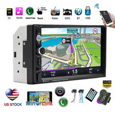 7 Inch Car Stereo Radio Bluetooth Touch Screen USB AUX MP5 FM Player Double 2Din