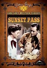 USED DVD // SUNSET PASS -  ZANE GREY CLASSICS -  James Warren