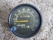 1993 POLARIS INDY SPEED GAUGE SPEEDOMETER SPEEDO (7595 MILES) MILEAGE/TRIP METER