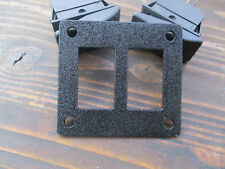 Tmw Universal Switch Plate 2 Rocker Style Switches 14ga Steel Painted
