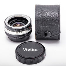 (170) Vivitar Auto 2x Tele Converter f/M42 Universal, crystal clear glass