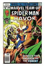 Marvel Team-Up Vol 1 No 69 May 1978 (VFN+) Spider-Man & Havok