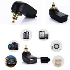 5V 4.8A Dual USB Telefon Ladegerät mit wasserdichtem Überlastschutz Cap für BMW