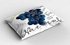 Grain de raisin Taie d'oreiller Bio juteuse frais naturel