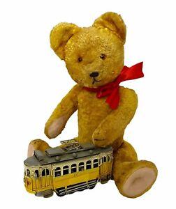 """Lovely vintage GOKRA Gottfried Kraeber teddy bear 34cm - 13,3"""" 1940's"""