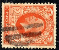 KGV 1934-6 2d Orange Sideways Watermark Photogravure SG442b Good Used