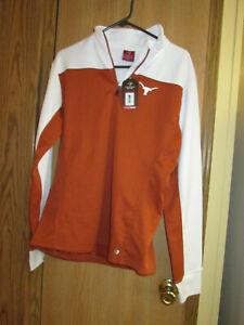 NWT Women's Texas Longhorns Pullover Top Size XL