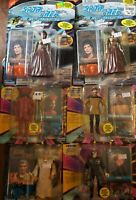 Star Trek The Next Generation Action Figures Lot Of 6 Vintage Playmates TNG RARE