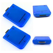 2 2800MAH EXTERNAL BLUE BATTERY POWER CHARGER 30-PIN IPHONE 4S 4 3GS IPOD TOUCH