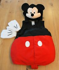 New Disney Store MICKEY MOUSE Plush Costume Infant Size 6-12 Months