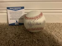 OZZIE SMITH SIGNED Autograph MLB OFFICIAL BASEBALL AUTO The WIZARD CARDINALS