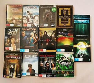 DVD TV series seasons series used all in good condition