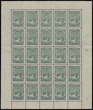✔️ COLOMBIA SCADTA 1923 - AIRPLANE - FULL SHEET - SC. C44 ** MNH [SCDT34]