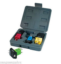 Domestic and Import Automotive Relay Tester Test Jumper Kit HOW TO TEST RELAYS