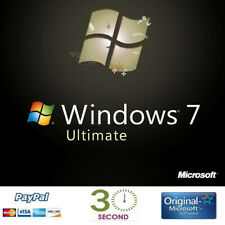 Windows 7 ULTIMATE - Multilingual - Key/code 32-64 bit - 100% Guaranteed