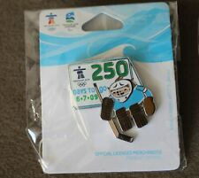Quatchi 250 days 1469 AUTHENTIC Vancouver 2010 Winter Olympic PIN new