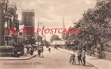 London E17  - WALTHAMSTOW,  Church Hill - used 1914.