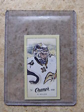 09-10 UD Champs Mini Blue Back #210 RYAN MILLER