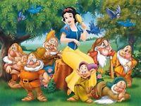 Diamond Painting Cross Stitch Diamond Embroidery Snow White and the Seven Dwarfs